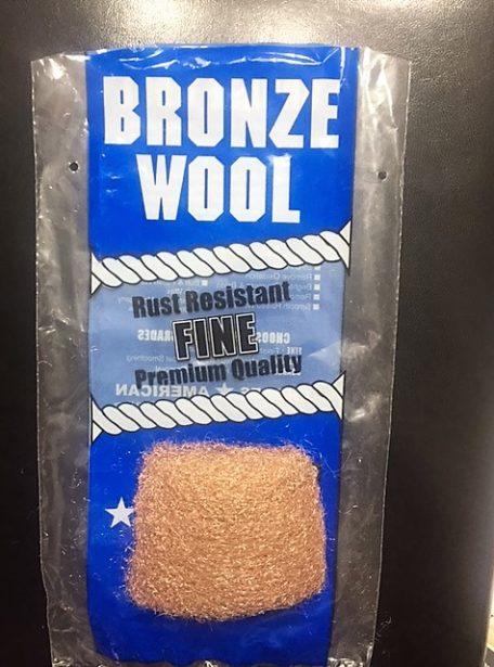 bronze wool